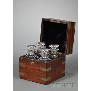 Campaign-style Rosewood Tantalus
