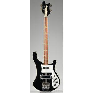 American Electric Bass, Rickenbacker Company, Santa Ana, 1978, Model 4001