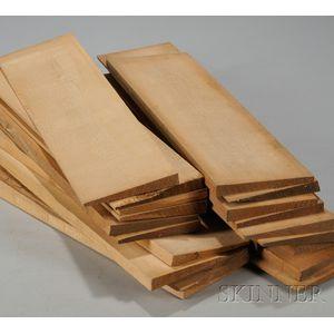 Quartersawn Maple Wedges for Violoncello Bridges