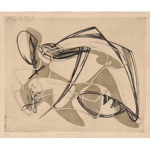 Stanley William Hayter (British, 1901-1988)      Viol de Lucrèce