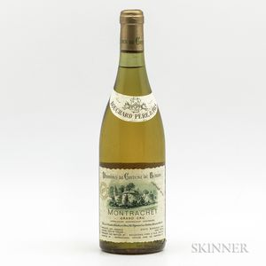 Bouchard Pere & Fils (Chateau de Beaune) Montrachet 1978, 1 bottle