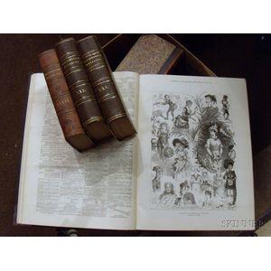 Approximately Twenty-five Mostly Leather-bound Books