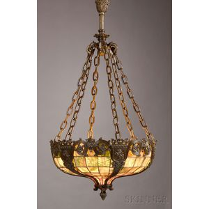 Hanging Lamp, Probably Duffner & Kimberly