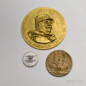 Four Commemorative Medals