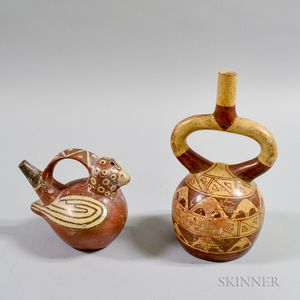 Two Painted Pottery Vessels