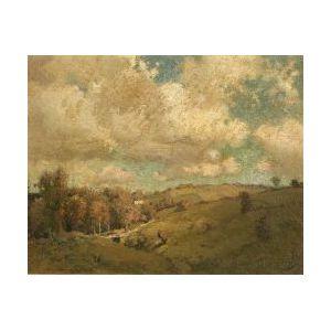 William Jurian Kaula (American, b. 1871)  The Hillside
