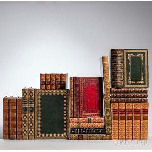 Decorative Bindings, Sets, Twenty-seven Volumes.