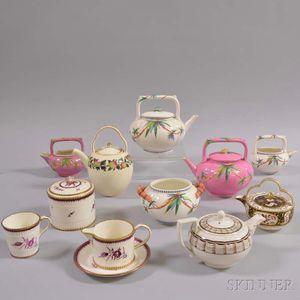 Eleven Pieces of Wedgwood Ceramic Teaware