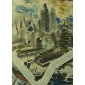 Framed Cityscape Print