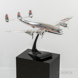 Lockheed Constellation L749 Delivery Aviation Model with Display Plinth