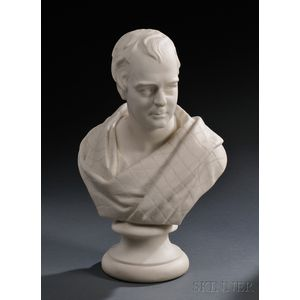 Wedgwood Carrara Bust of Scott