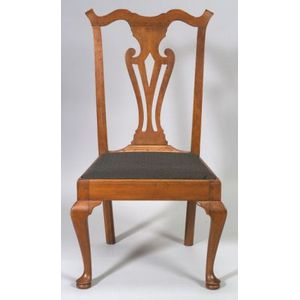 Chippendale Cherry Side Chair