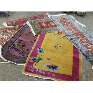 Six Oriental Rugs