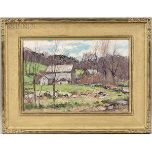 Bernard Corey (American, 1914-2000)      Springdale Farm