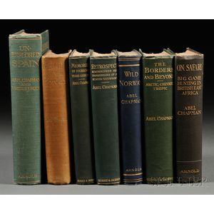 Chapman, Abel (1851-1929) Seven Titles: