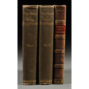 Hawker, Peter (1786-1853) Three Volumes: