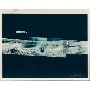 Apollo 16, Lunar Panoramas, Mixed Group, April 21-23, 1972.