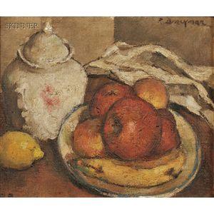 Robert Brackman (American, 1898-1980)      Fruit