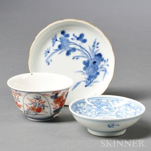 Three Small Imari Items