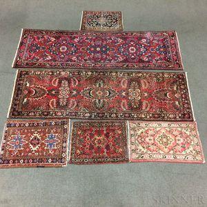 Six Persian Mats