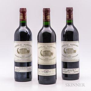Chateau Margaux, 3 bottles