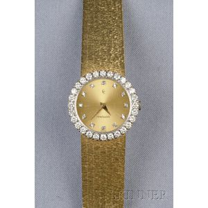 18kt Gold and Diamond Wristwatch, Concord