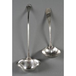 Two Sterling Ladles
