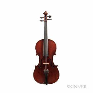 German Violin, E.H. Roth Workshop, Markneukirchen, 1927