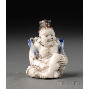 Porcelain Netsuke