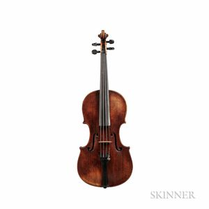 Danish Violin, Andreas Hansen Hjorth, Copenhagen, c. 1820
