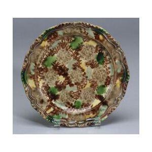 Staffordshire Lead Glazed Creamware Plate