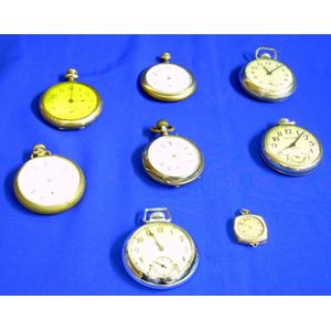Lot of Eight Pocket Watches