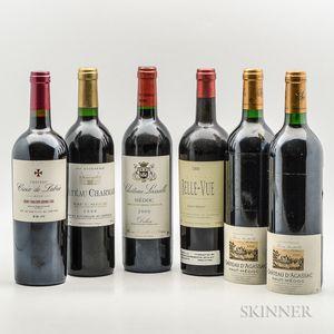 Mixed Bordeaux, 6 bottles Mixed Bordeaux, 6 bottles