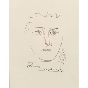Pablo Picasso (Spanish, 1881-1973)    Pour Roby