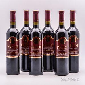 Pride Mountain Vineyards Cabernet Sauvignon Reserve 2010, 6 bottles