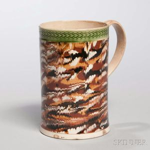 Creamware Pint Mug