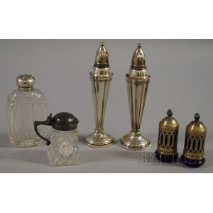 Group of Assorted Silver and Silver-plated Table and Vanity Items