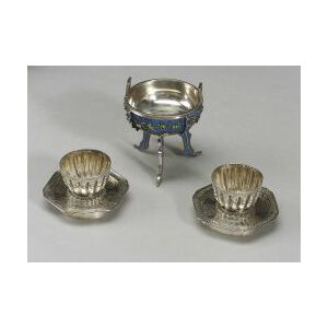 Three Pieces of Chinese Silver