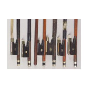 Seven Nickel Mounted Bows