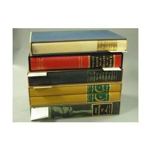 Verne, Jules, Five titles;