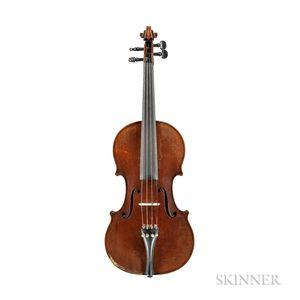 German Violin, Oskar C. Meinel, Markneukirchen, 1937