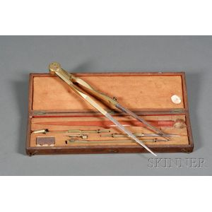 Boxed Set of Drafting Instruments