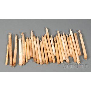 Twenty-six Tallow Candles