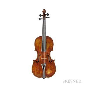 Italian Violin, Lorenzo Ventapane, Naples, c. 1843