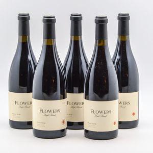 Flowers Keefer Ranch Pinot Noir 2000, 5 bottles
