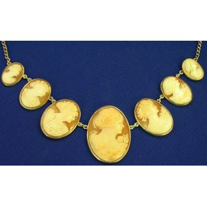 Shell Cameo Necklace