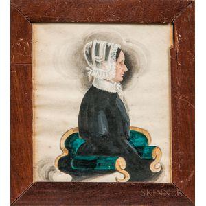 James Sanford Ellsworth (American, 1802/03-1874)      Portrait of Marcia Treat
