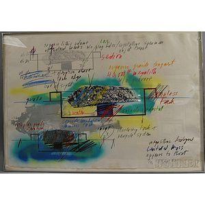 Michael Heizer (American, b. 1944)      Levitated Mass