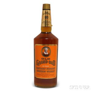 Old Grand Dad Kentucky Straight Bourbon Whiskey, 1 liter bottle