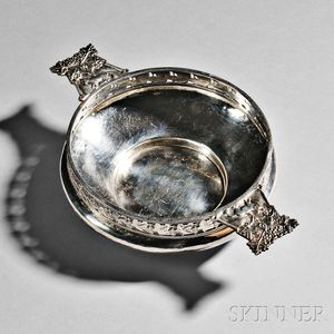 George V Arts and Crafts Sterling Silver Dish